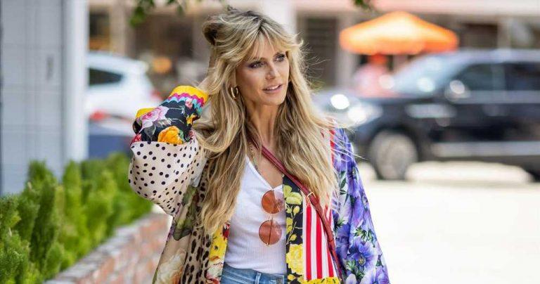 Grab a Colorful Kaftan Like Heidi Klum's — But for $3,324 Less