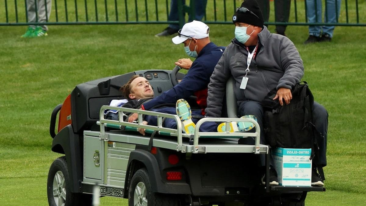 'Harry Potter' Star Tom Felton Carted Off After Collapsing at Ryder Cup Golf Event