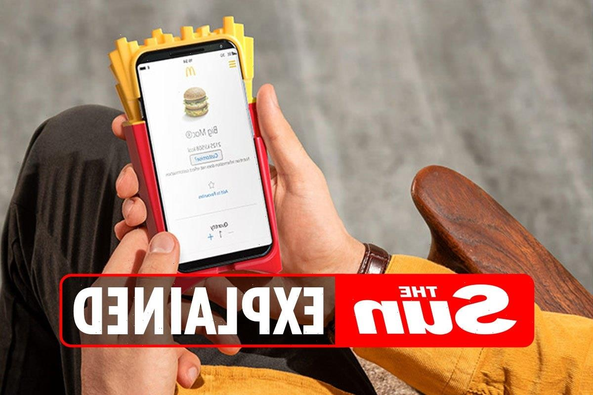 Is McDonald's Monopoly available on Uber Eats delivery?