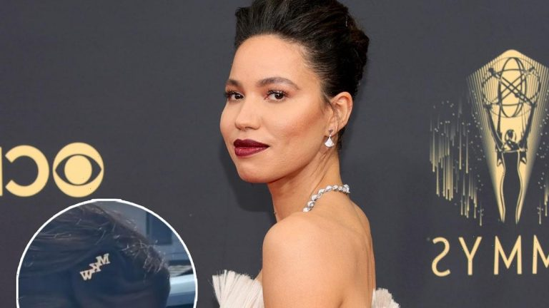 Jurnee Smollett Honored Lovecraft Country Costar Michael K. Williams with Her Hair at the Emmys