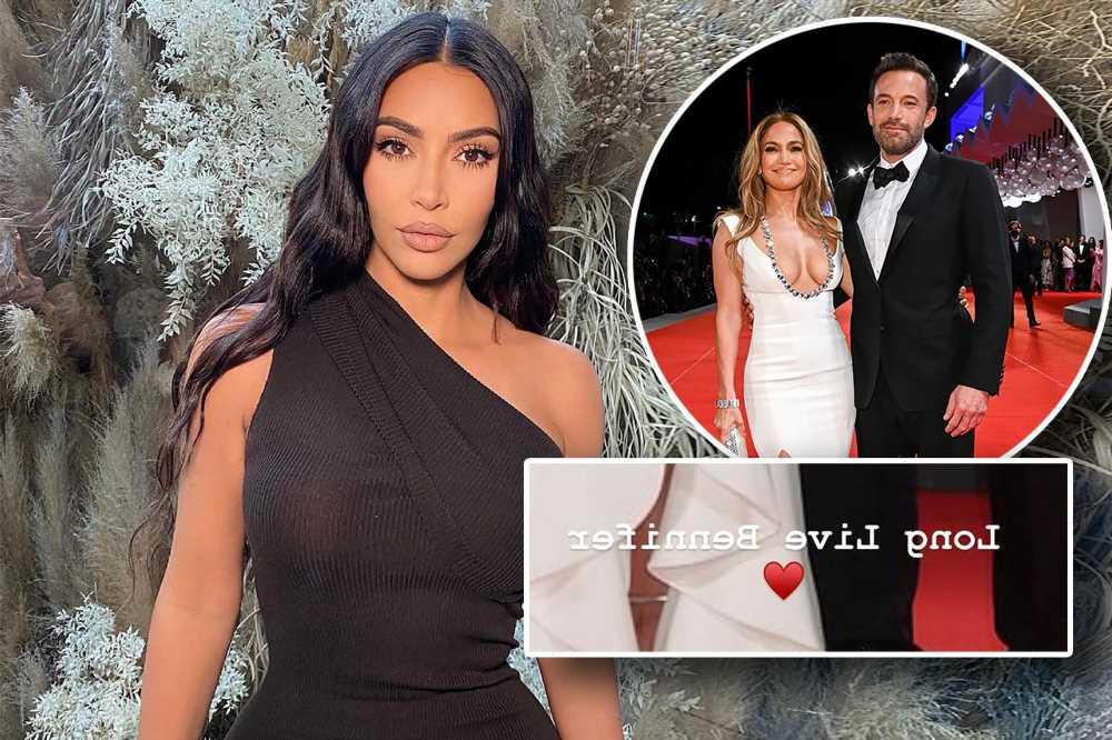 Kim Kardashian praises Jennifer Lopez, Ben Affleck's red carpet debut