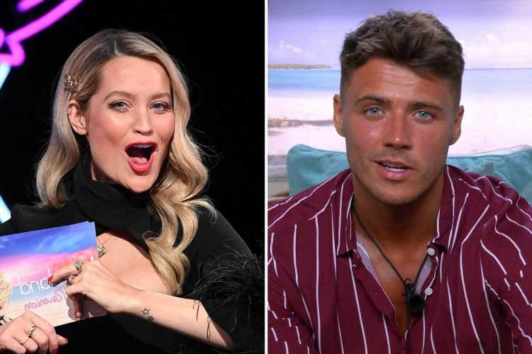 Love Island's Brad McClelland rips into Laura Whitmore for 'stupid questioning' after 'boring' reunion episode