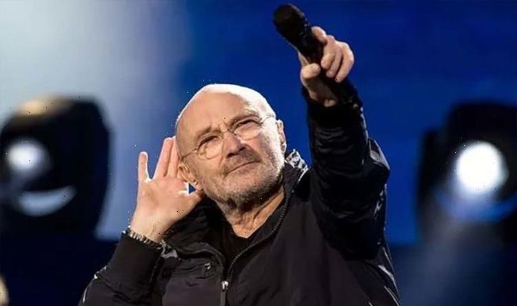 Phil Collins back on stage after health problems nearly killed him