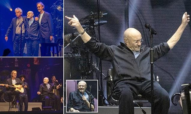 Phil Collins is back in his element as Genesis reunion tour kicks off