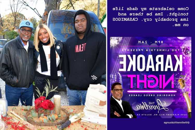 RHOA's NeNe & Gregg Leakes' son Brentt, 22, throws party at family lounge to honor late father hours after his death