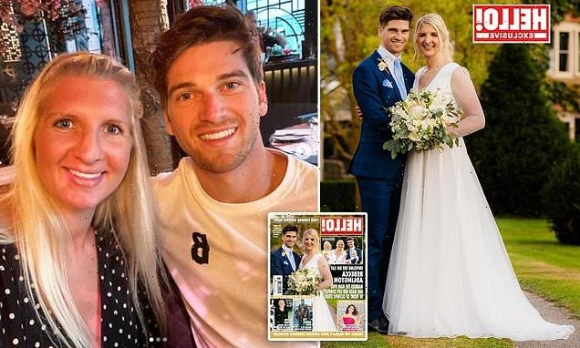 Rebecca Adlington weds fiancé Andy Parsons at lavish country manor