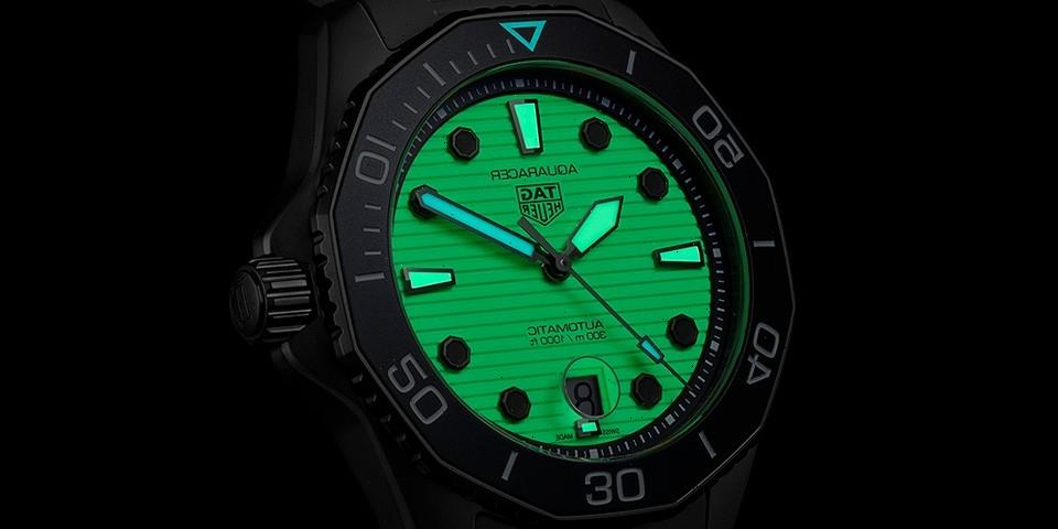 TAG Heuer Brings Back Its Night Diver With New Aquaracer Professional 300