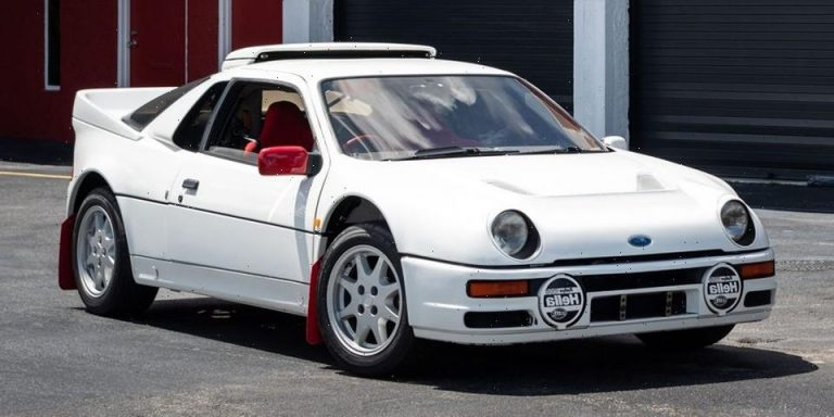 The Ford RS200 Is an '80s Group B Rally Legend, And It's Up for Sale
