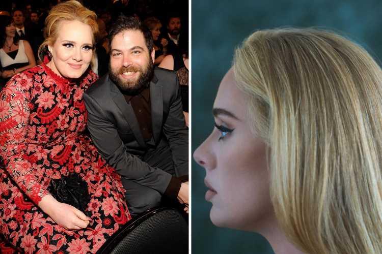 Adele reveals she 'sobbed relentlessly' and 'battled grief' during split from husband Simon Konecki