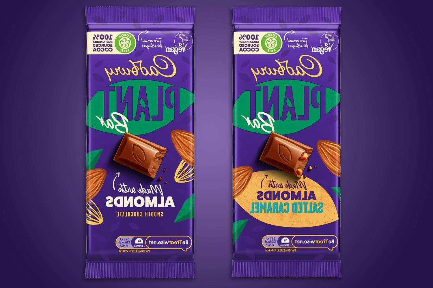 Cadbury launching a plant-based chocolate bar for vegans – but it's MORE calories and double the price of Dairy Milk