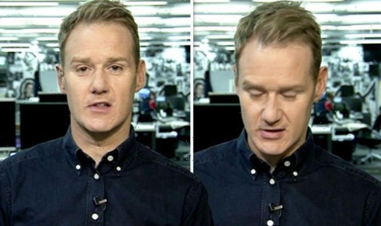 Dan Walker: Strictly star reacts to sad news after colleague quits amid health woes