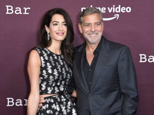 George Clooney & Amal Clooney Reminded Us They're Red Carpet Royalty With This Rare Night Out