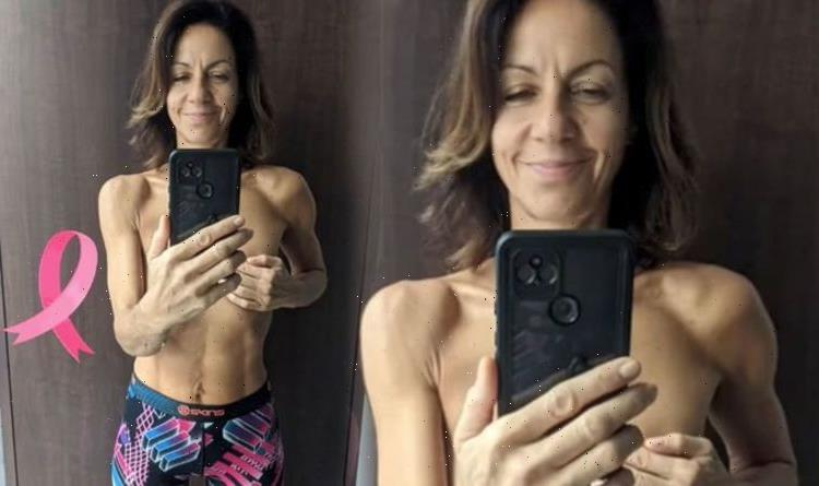 Going for my last walk with these boobs Julia Bradbury takes topless snap pre cancer op