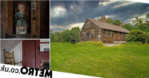 'Haunted' house that inspired The Conjuring goes on sale – complete with ghosts