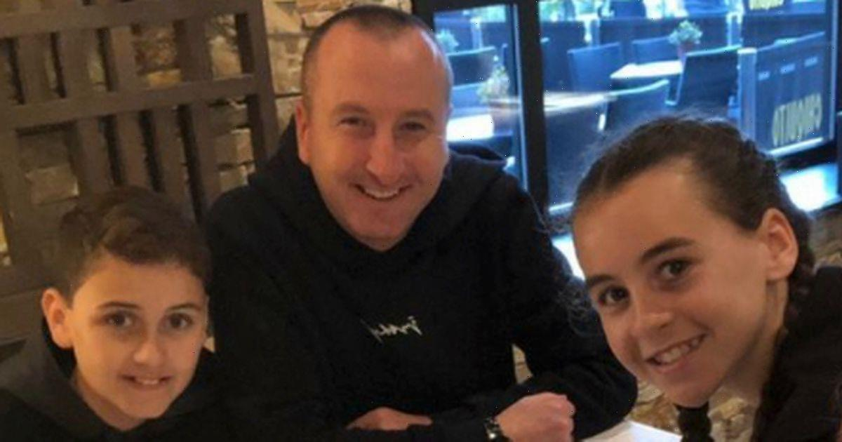 Im a Celebs Andy Whyment shares rare family snap in birthday tribute to son