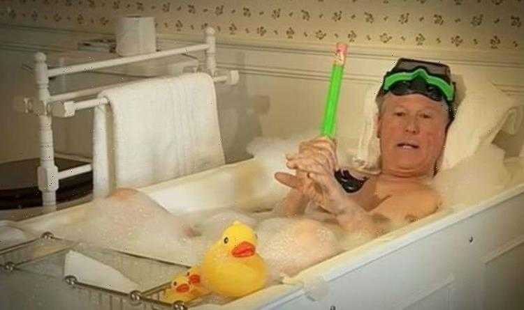 John Craven startled viewers after naked bath clip unearthed: I cant unsee it