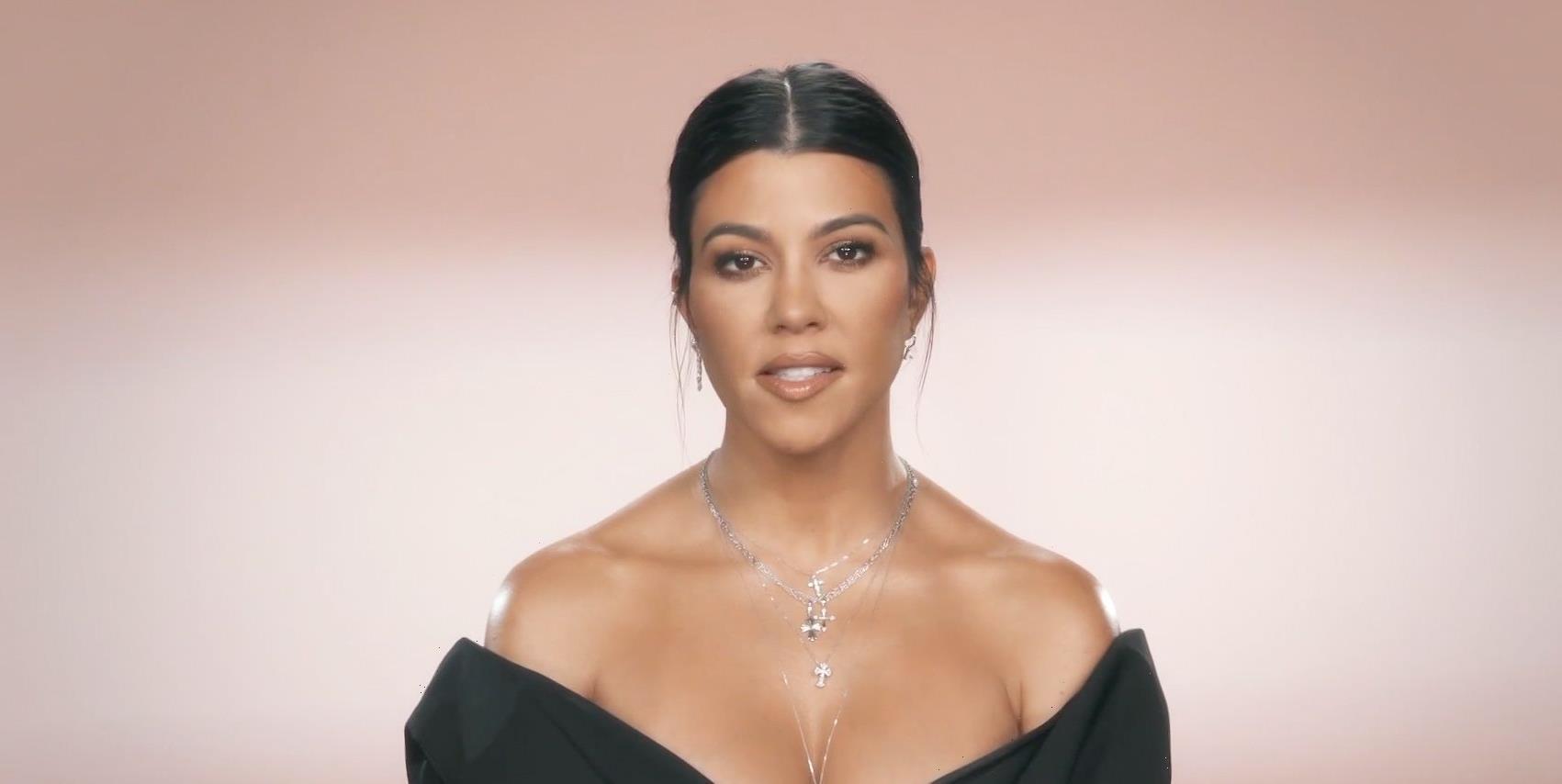 Kourtney Kardashian Got Her Hair Cut Again and It Looks So Chic