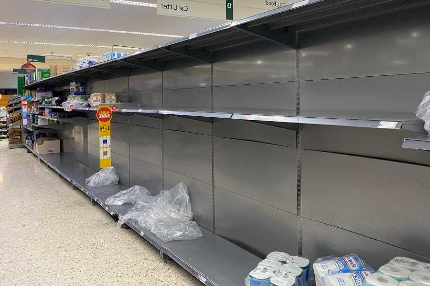 Loo roll stocks to be under threat AGAIN as fears of panic buying rise