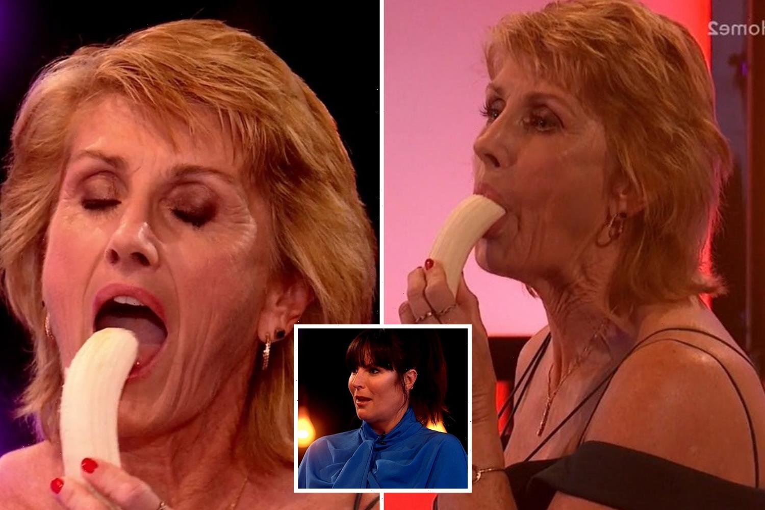 Naked Attraction viewers left horrified as woman, 54, performs a crude sex act on a banana