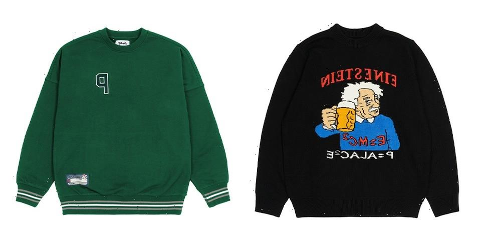 Palace Winter 2021 Knitwear, Hoodies and Sweaters