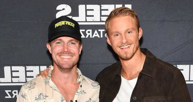 Stephen Amell & Alexander Ludwig Pose With Younger Selves at Heels Season Finale Screening