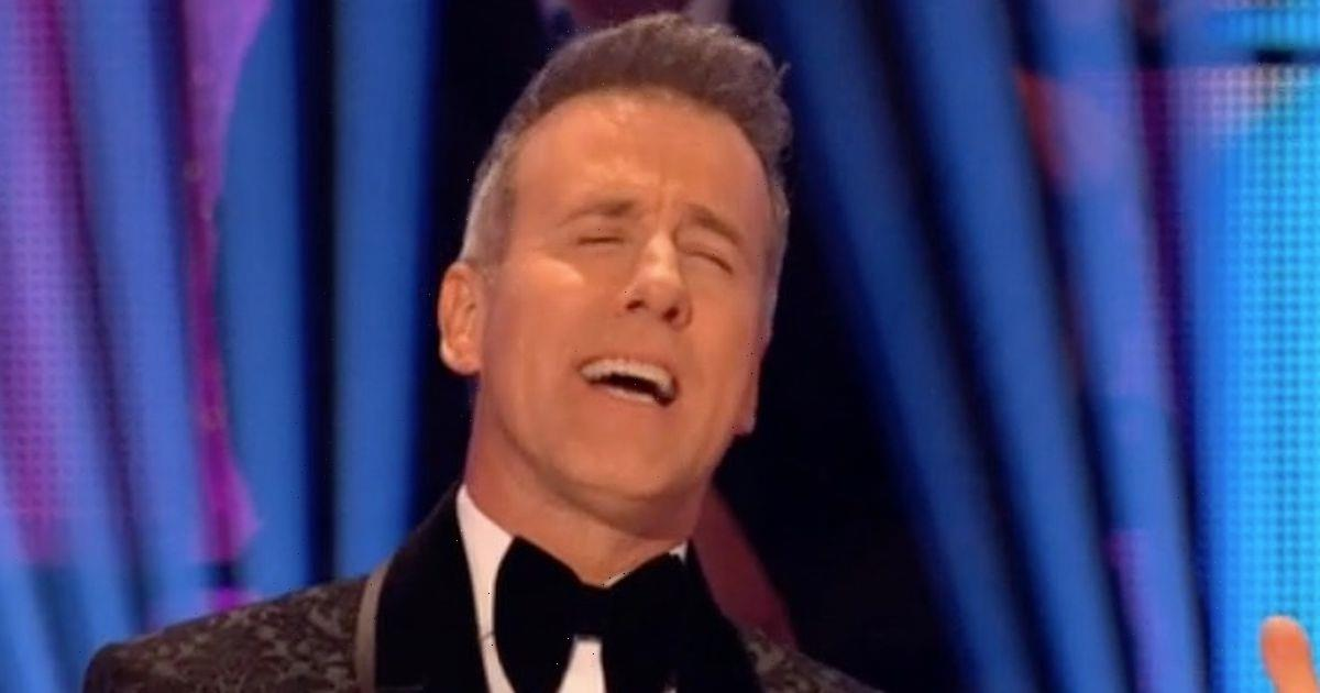 Strictlys Anton Du Beke left mortified and disappointed over Dan Walkers dance mistake