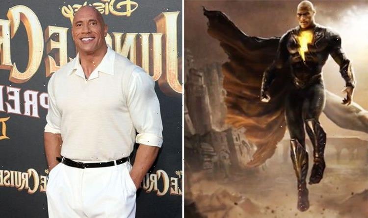 The Rock's Black Adam FIRST LOOK: Dwayne Johnsons DC supervillain set leak 'He nailed it'